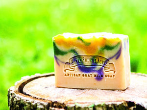 Patchouli Goat Milk Soap:Honey Sweetie Acres