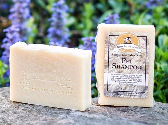 Pet Shampoo Bar:Honey Sweetie Acres