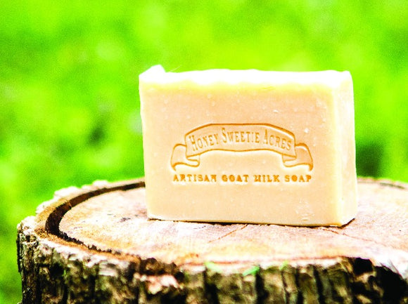 Plain Goat Milk Soap:Honey Sweetie Acres