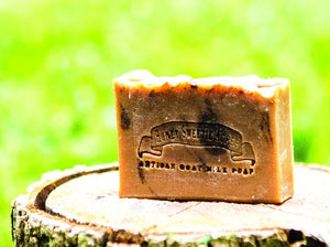Pumpkin Pie Goat Milk Soap:Honey Sweetie Acres