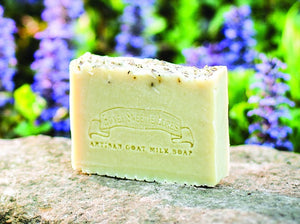 Rosemary and Basil Goat Milk Soap:Honey Sweetie Acres