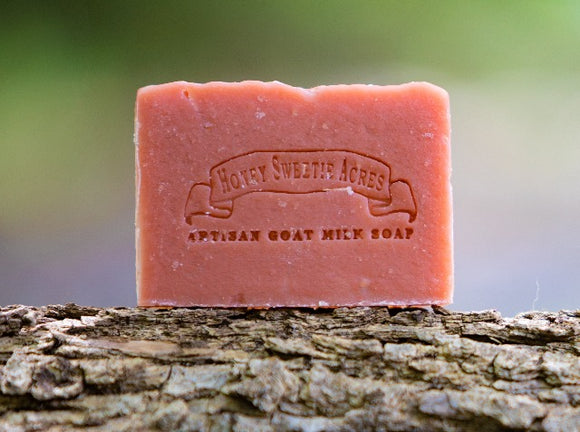 Strawberry Goat Milk Soap