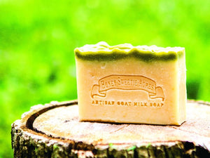 Eucalyptus Spearmint Goat Milk Soap:Honey Sweetie Acres