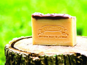 Bay Rum Goat Milk Soap:Honey Sweetie Acres