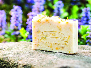Calendula Goat Milk Soap:Honey Sweetie Acres