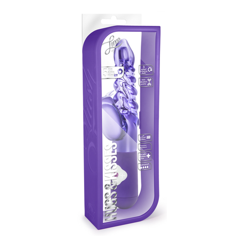Vibrador Luxe Hugs and Kisses Purple