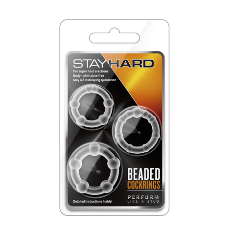Anillos Stay Hard Beaded Cockrings