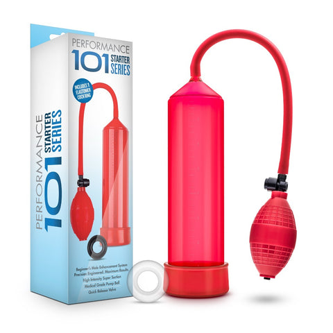 Performance 101 Starter Series Pump Red