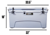 EPIC 75 Qt ROTO MOLDED COOLER - EPIC COOLERS