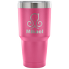 30 oz Insulated Tumbler with ManyChat Logo/Symbol and Custom Name/Letters - EPIC COOLERS