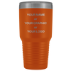 30 oz CUSTOM MUGS - LASER ENGRAVED Personalized Stainless Steel Insulated Tumblers - EPIC COOLERS