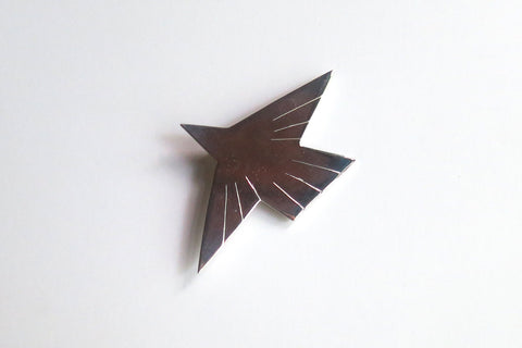 Pin, Bird from Wharton's Tri-fold Screen