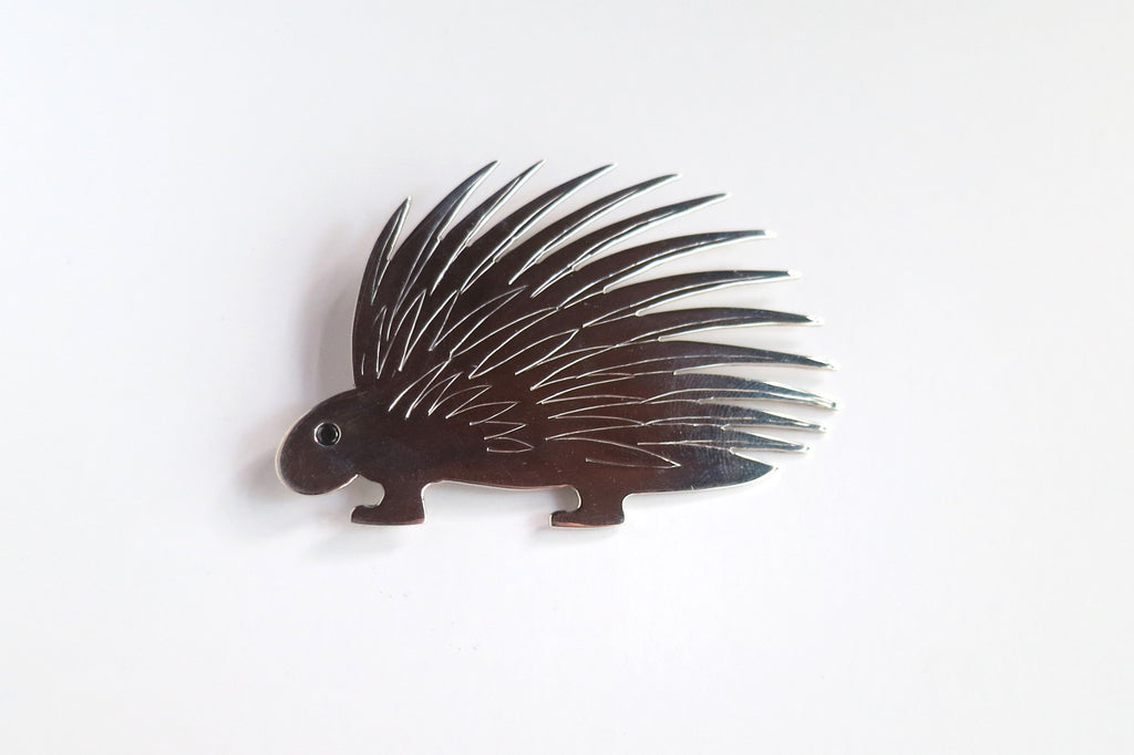 "Pin, Porcupine from D.H. Lawrence's ""Reflections on the Death of a Porcupine"""