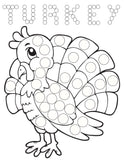 Thanksgiving Fall Edition for Dot Markers PDF