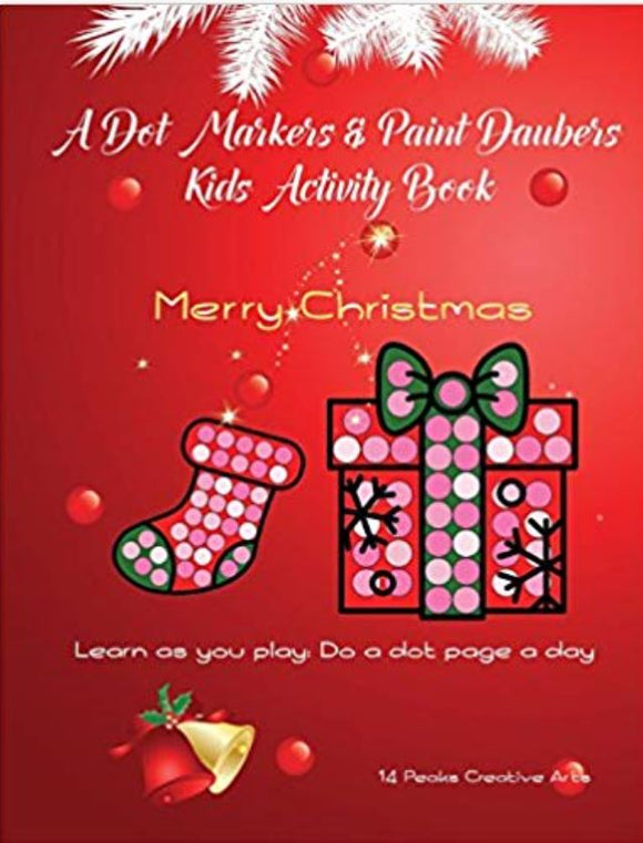A Dot Markers  Merry Christmas: