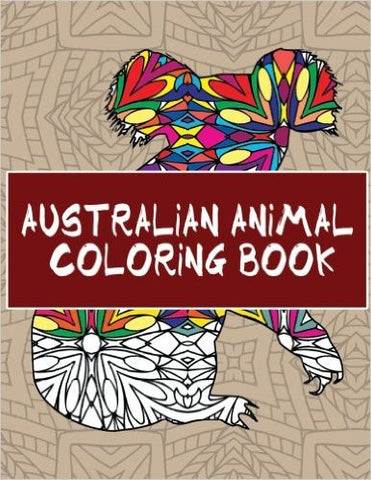 Australian Animal Coloring Book: Digital Delivery