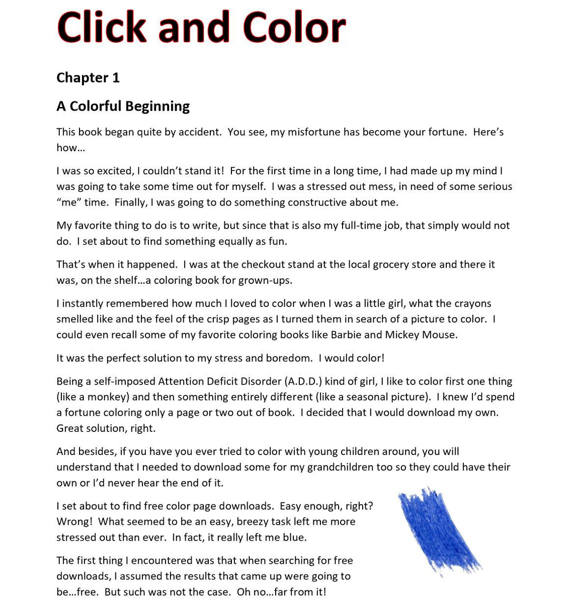 Click And Color 14 Peaks