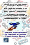 Fidget Spinner Games: Awesome Games, Challenges & Dares For Your Hand Spinner