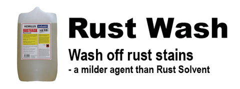 Rust Wash Solution