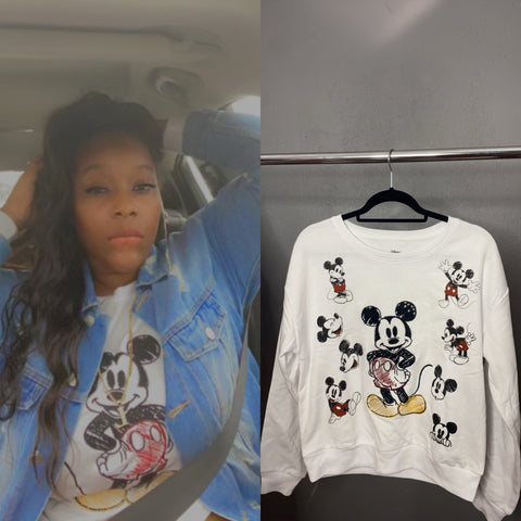 Mickey Mouse Sweater Top