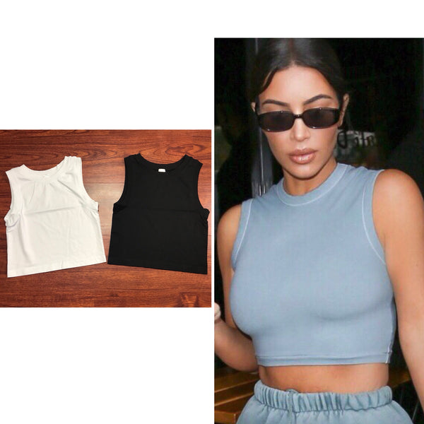 Kimberly Muscle Crop Top
