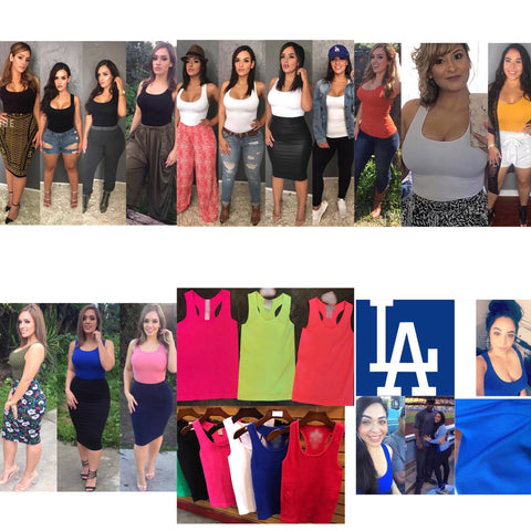 Popular Ribbed Tank Tops