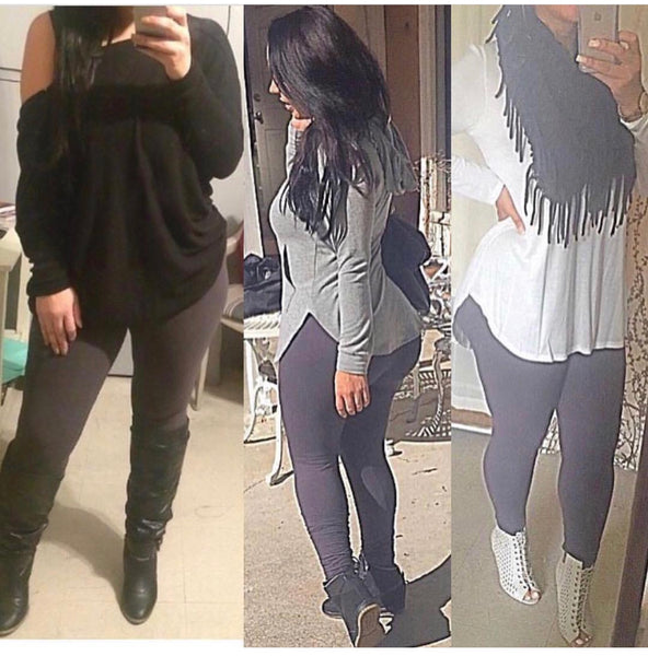 Popular Full Length Non See Through Leggings