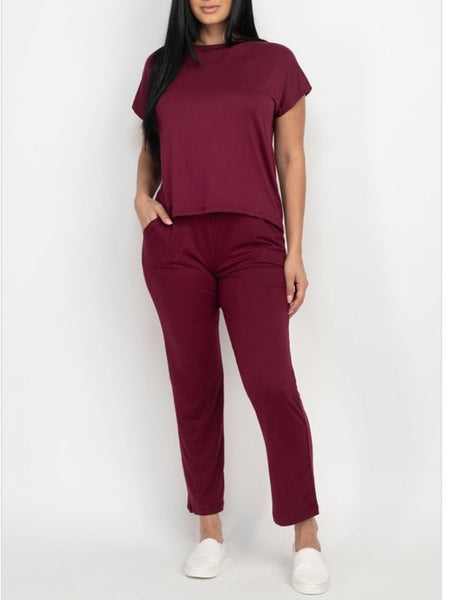 Lounging Around 2 Piece Pants Set