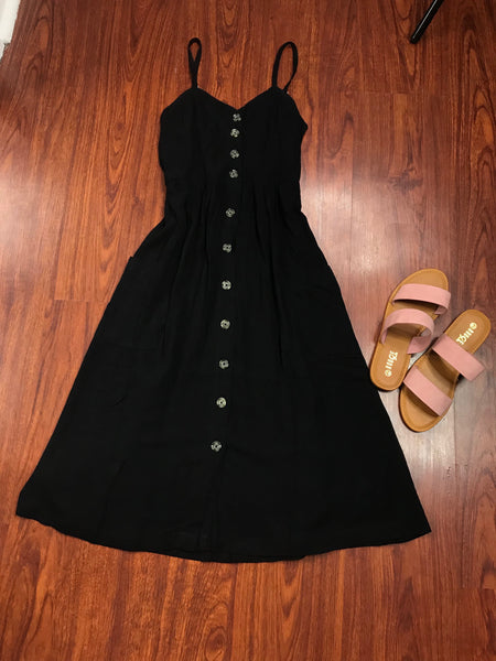 Mary Button Down Dress