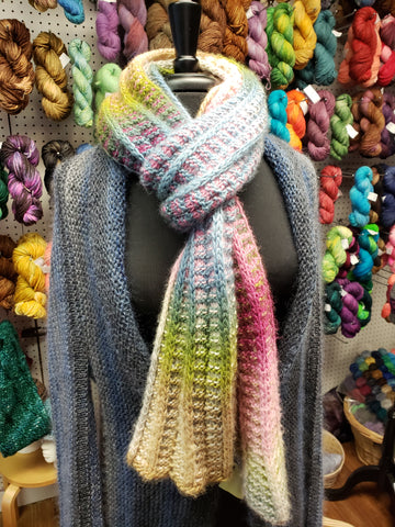 Frosted Multi Scarf with Amitola Grande
