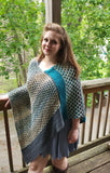 Honeycomb Hollow Poncho Kit