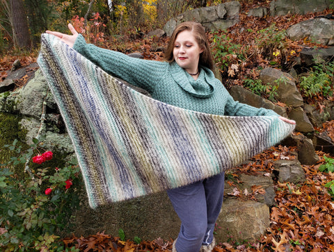 Blurry Shawl Kit