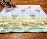 Love from Afar Baby Blanket Kit