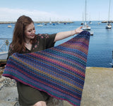 Dragon Scales Shawl Kit