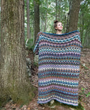 Dragon Scales Blanket Kit with Kureyon Air