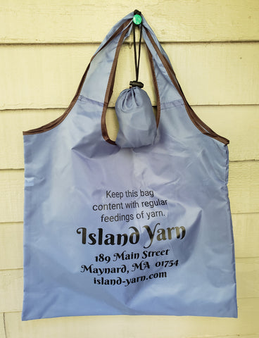 Foldaway Island Yarn Shopping Bag