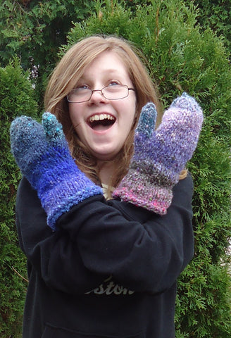 Double Cuff Mittens
