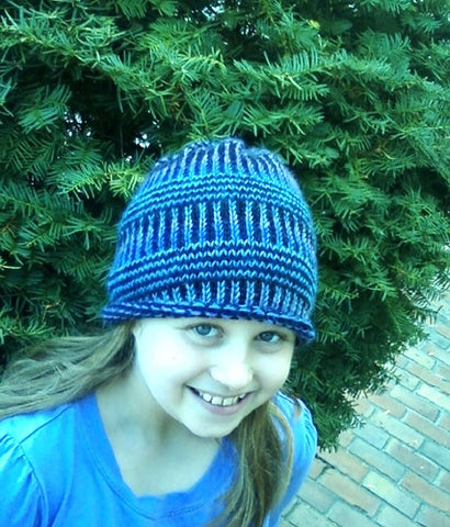 Fading Strands Hat Pattern