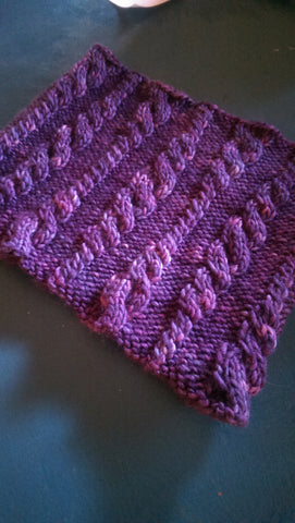 Elderberry Path Cowl/Scarf Pattern