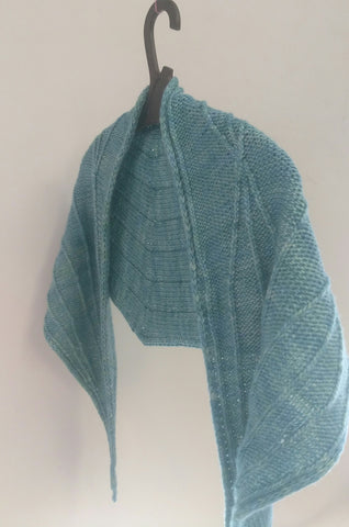 Streamlines Shawl