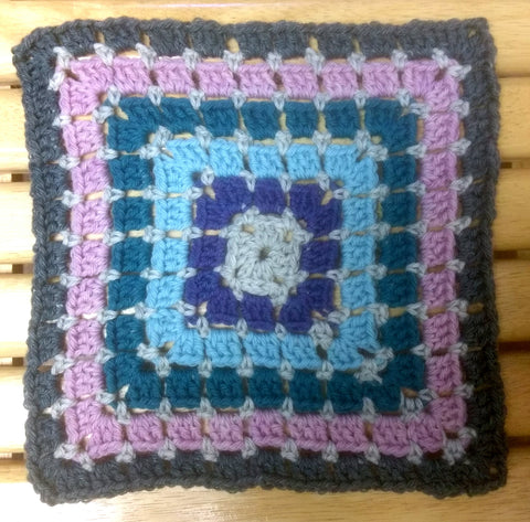 Granny Square #2- Beginner (Friday, 2/22, 10:30am - 12)