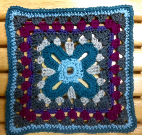 Granny Square #3- Beginner (Friday, 11/10, 11/17(optional), 10:30am - 12)