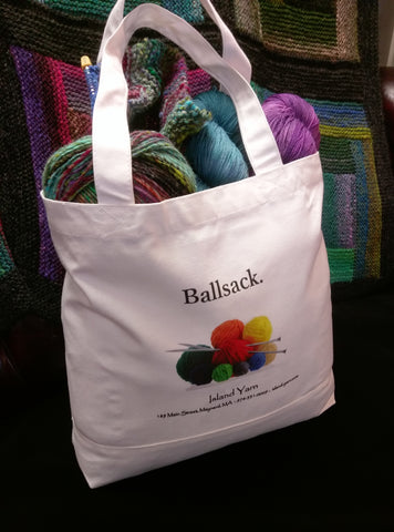 Island Yarn Knitting Bag - Ballsack