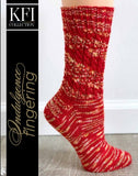 San Mateo Sock Kit with Indulgence Hand-painted Fingering