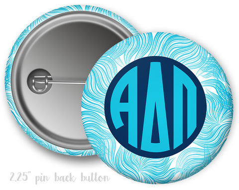 Alpha Delta Pi Whispy Button - Suite Space Boutique