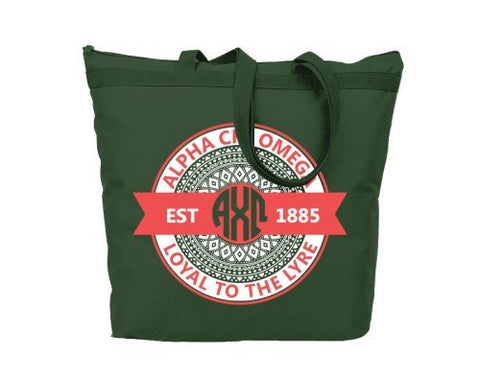 Alpha Chi Omega Aztec Tote - Suite Space Boutique
