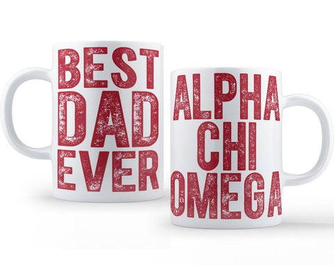 Alpha Chi Omega Dad Mug - Suite Space Boutique