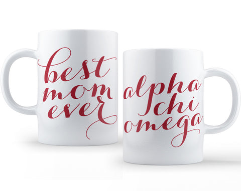 Alpha Chi Omega Mom Mug - Suite Space Boutique