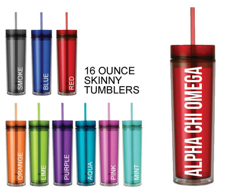 Alpha Chi Omega Tumbler - Suite Space Boutique