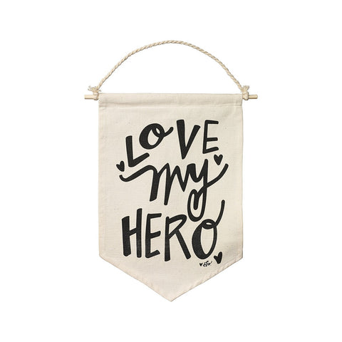 Banner - Love My Hero - Suite Space Boutique